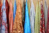 Perdeleri satılık — Stok fotoğraf