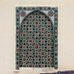 Moroccan mosaic — Stock Photo