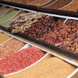 Stock Photo: Dried fruits and legumes