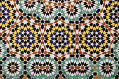 Moroccan mosaic — Stock Photo