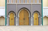 Royal Palace in Fes — Stock Photo
