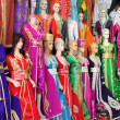 Foto Stock: Djellaba, traditional long female dress