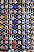 Renkli seramik kapaklar — Stok fotoğraf