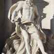 Oceanus in the Trevi Fountain — Stock Photo