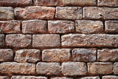 Weathered red brick wall — Foto de Stock