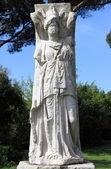 Estátua de minerva alado — Fotografia Stock