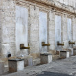 Fountain for ablutions in Yeni Cami Mosque — Stock Photo
