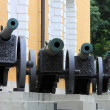 Artillery cannons — Stock Photo