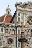 Scenic view of Florence cathedral — Stock Photo
