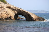 Natural Arch in the rock — Stock Photo