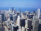 Panoramic view of Chicago — Stock Photo