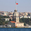 Stock Photo: Maiden Tower in Istanbul