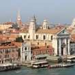 Giudecca channel in Venice — Stock Photo