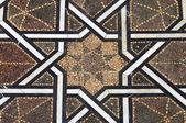Moroccan tiled floor — Stock Photo