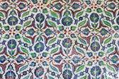 Turkish tiled wall — Stock Photo