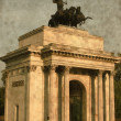 Wellington arch - Vintage — Stock Photo
