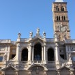 Saint Mary Major Basilica in Rome — Stock Photo