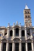 Saint Mary Major Basilica in Rome — Stock Photo