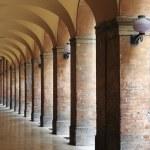 Colonnade in Urbino — Stock Photo