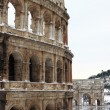 Colosseum under snow — Stock Photo