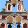 Orthodox bell tower in Corfu — Stock Photo