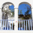 Stock Photo: Arched balcony