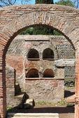 Necropolis in Ostia Antica — Stock Photo
