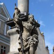 Saint Wenceslas statue — Stock Photo #6755856