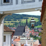 Cesky Krumlov scenic view — Stock Photo #8126516