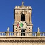 Senatorio Palace in Rome — Stock Photo #8762037