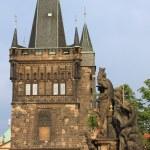 Tower on Charles Bridge, Prague — Stock Photo #9653214