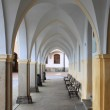 Colonnade in Telc — Stock Photo #9897745