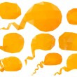 Set of vector speech bubbles — Stock Vector