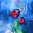 Stock Photo: Flower smoke
