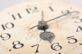 Uhr gesicht, makro — Stockfoto