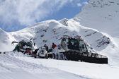 Ratrak, Machine, spezielle Schnee Fahrzeug Pflege — Stockfoto