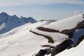 The mountains in Krasnaya Polyana, Sochi, Russia — Stockfoto
