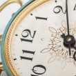Clock face, macro — Stockfoto