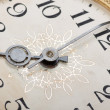 Clock face, macro — Stock Photo