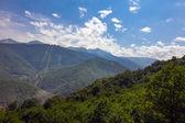 Mountains of Krasnaya Polyana. Sochi, Russia. — Stockfoto