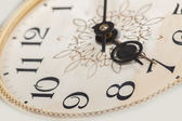 Clock face, macro — Foto Stock