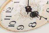 Clock face, macro — Stock Photo
