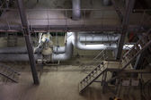 Electric power station, inside — Stock Photo