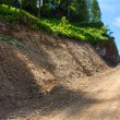 Stock Photo: Cliffside Dirt Road