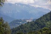 Mountains of Krasnaya Polyana. Sochi, Russia. — Stock Photo