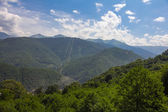 Mountains of Krasnaya Polyana. Sochi, Russia. — Foto Stock