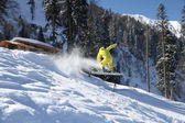 Snowboard freeride — Photo