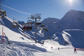 Ski resort. Krasnaya Polyana, Sochi, Russia — Stock Photo