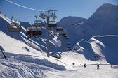 Ski resort. krasnaja poljana, sotschi, russland — Stockfoto