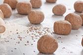 Dough balls — Foto de Stock